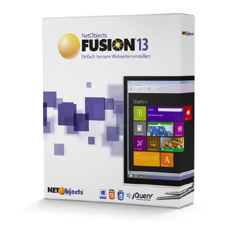 NetObjects Fusion 13 1 Benutzer Vollversion EFS...