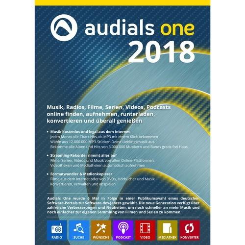 Audials One 2018 Vollversion ESD ( Online Downl...
