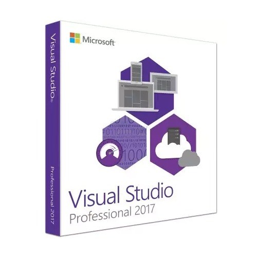 Microsoft VisualStudio Professional 2017 1 Benu...