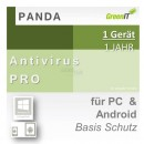 Panda Software Antivirus Pro 1 Gerät Vollversion GreenIT...