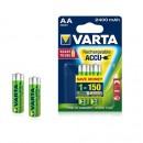 Varta Rechargeable Accu AA 2400 mAh 2er Pack
