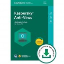 Kaspersky Anti-Virus 1 PC Vollversion ESD 1 Jahr für aktuelle Version 2018