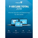 F-Secure Total Internet Security + VPN 2018 5 Geräte Vollversion ESD 2 Jahre