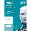 ESET NOD32 Antivirus 2018 Edition 3 Computer Vollversion...