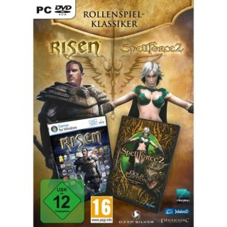 Deep Silver Rollenspiel Klassiker - Risen + Spellforce 2 Gold (PC) DVD-Box