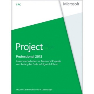 Microsoft Project Professional 2013 1 PC Vollversion PKC