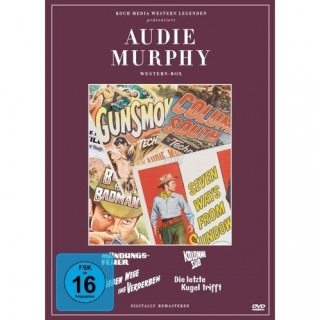 KochMedia Audie Murphy Collection (Edition Western-Legenden) (4 DVDs)
