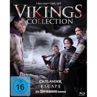 KochMedia Vikings Collection - Die Wikinger kommen (3 Blu-rays)