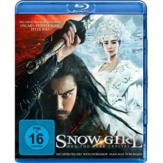 Black Hill Pictures Snow Girl and the Dark Crystal (Blu-ray)