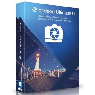 ACD Systems ACDSee Ultimate 9 Vollversion MiniBox