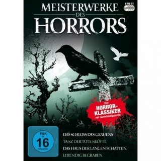 Black Hill Pictures Meisterwerke des Horrors (4 DVDs)