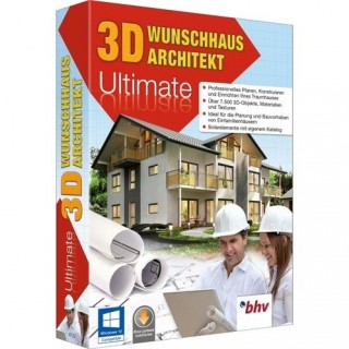BHV 3D Wunschhaus Architekt 9 Ultimate Vollversion MiniBox