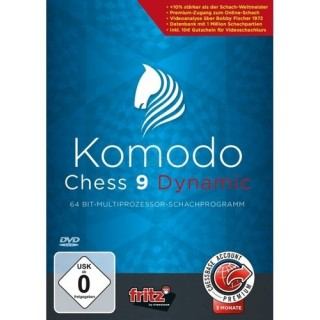 ChessBase Komodo 9 Dynamic (PC)