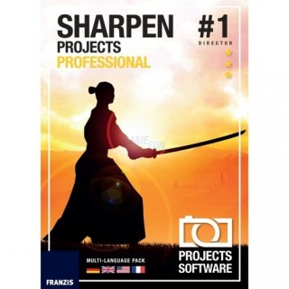Franzis Verlag SHARPEN projects professional 1 Benutzer | 1 PC oder Mac Vollversion DVD-Box Limited Edition