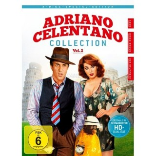 KochMedia Adriano Celentano - Collection Vol. 2 (3 DVDs)