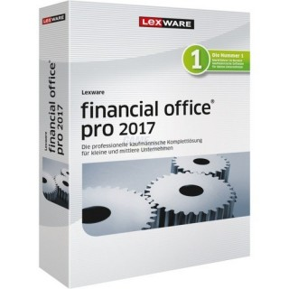 Lexware financial office pro 2017 (Version 17.00) 3 PCs