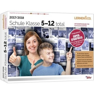 BHV Schule Klasse 5-12 total 2017/2018 Vollversion MiniBox