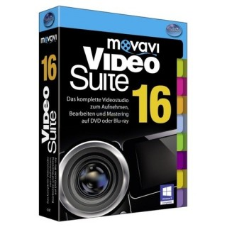 BHV movavi Video Suite 1 PC Vollversion MiniBox
