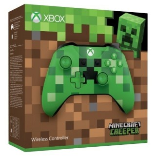 Microsoft Xbox One Branded Wireless Controller Minecraft Creeper