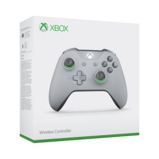 Microsoft Xbox One Branded Wireless Controller Gray Green