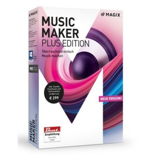 MAGIX Music Maker Plus Edition Vollversion MiniBox