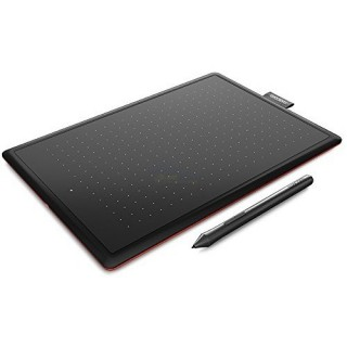 Wacom CTL-672 Bamboo|One M Stifttablett medium WIN MAC RED Edition