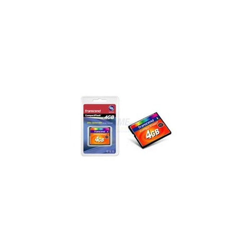 Transcend 4GB CompactFlash Card 133x mit MLC Chips