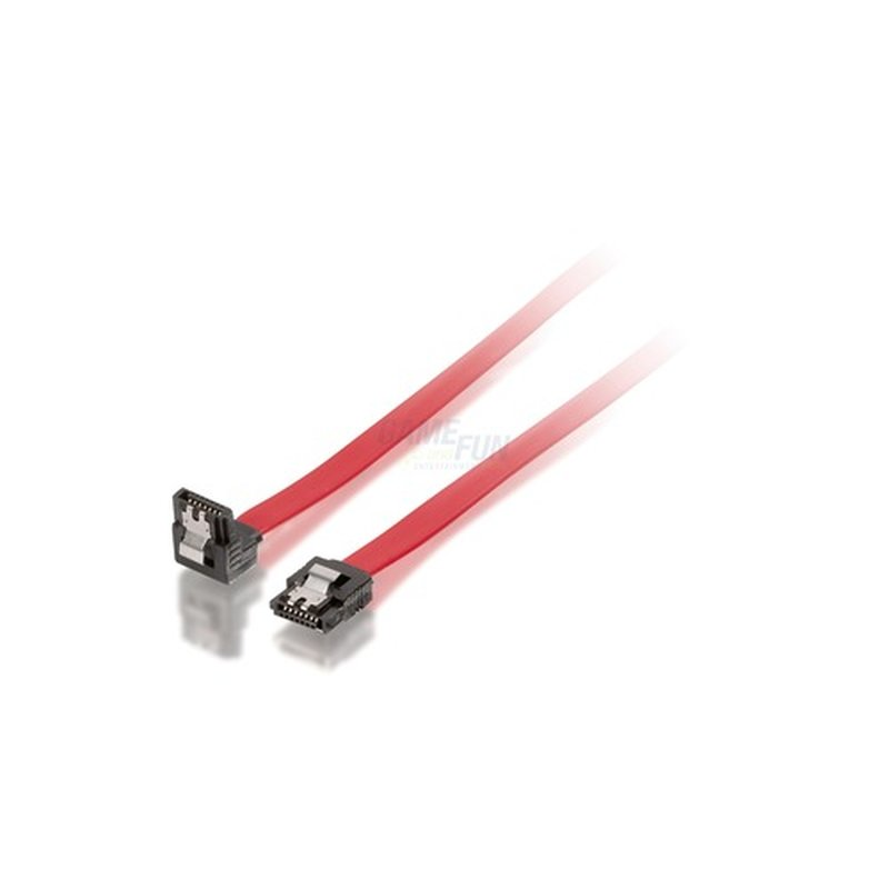 Equip SATA Anschlusskabel intern * 50cm 1x abgewinkelt Retail