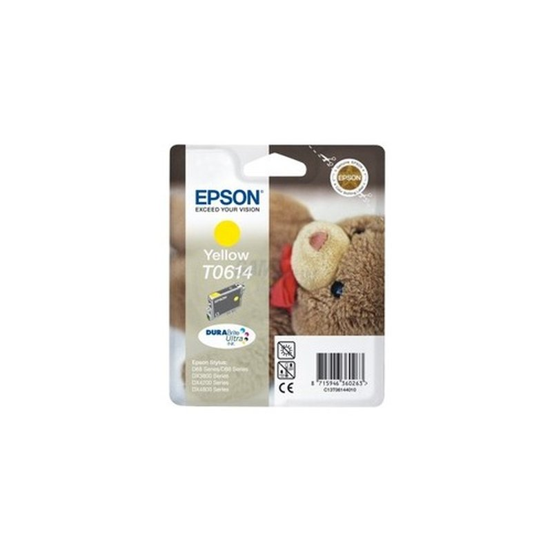 Epson T0614 Tintenpatrone gelb DURABrite Ultra Ink