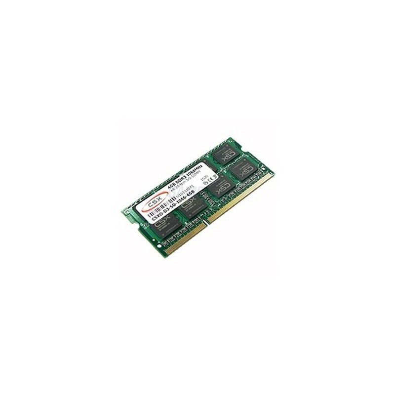 CSX-Memory DDR3 SO-DIMM 4GB 1333MHz 8 Chips