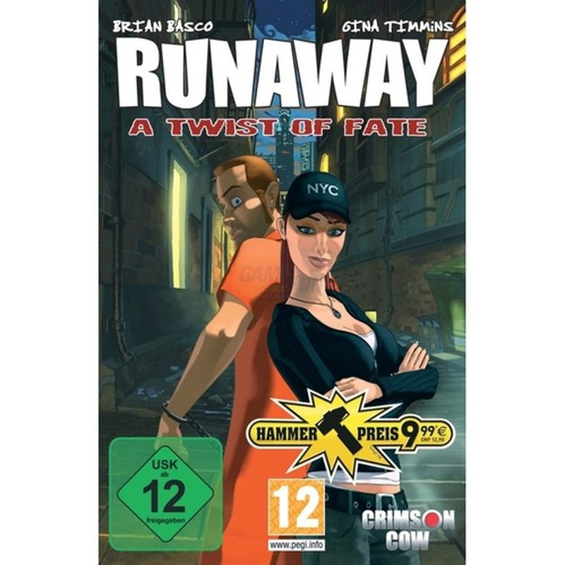 Crimson Cow Runaway - A Twist of Fate (PC)