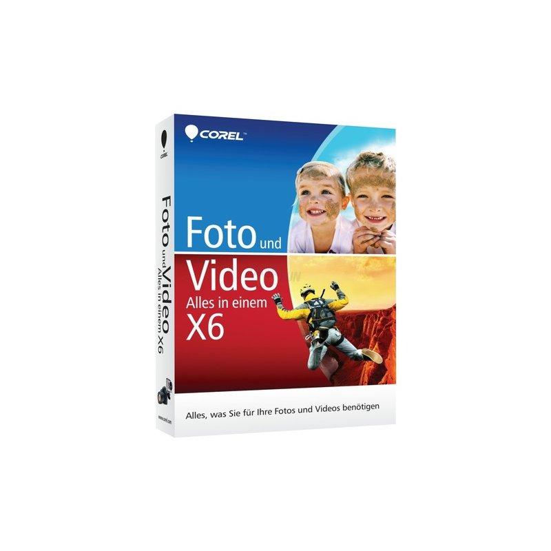 Corel Foto und Video X6 1 PC Vollversion MiniBox Alles in einem