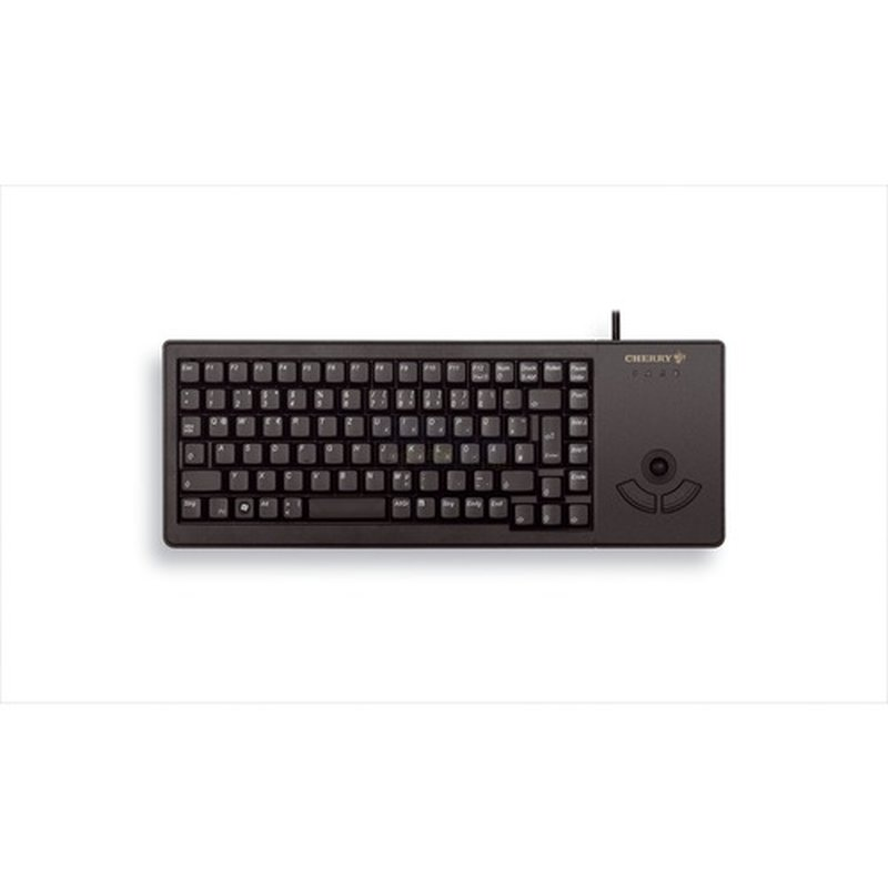 Cherry XS Trackball Keyboard G84-5400LUMDE-2 schwarz