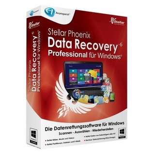 Avanquest Stellar Phoenix Data Recovery 6 Win - Pro Vollversion MiniBox