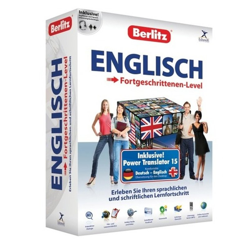 Berlitz Englisch - Fortgeschrittenen-Level inkl. Power Translator 15 Vollversion MiniBox