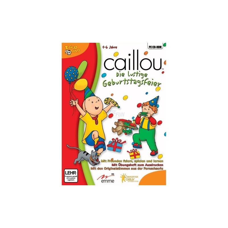 Avanquest Caillou - Die lustige Geburtstagsfeier