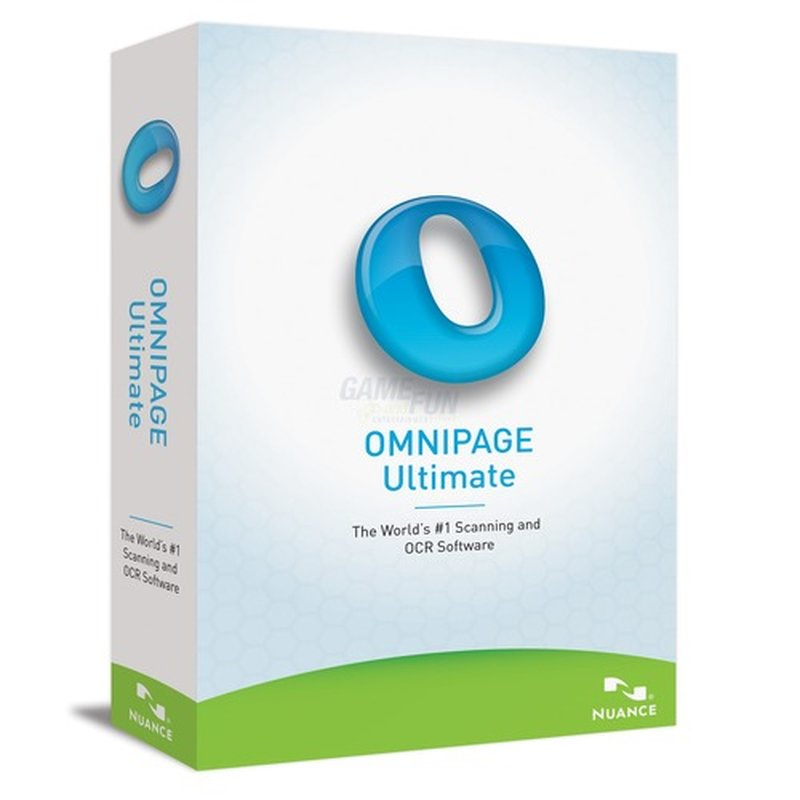 Nuance OmniPage 19 Ultimate Vollversion MiniBox