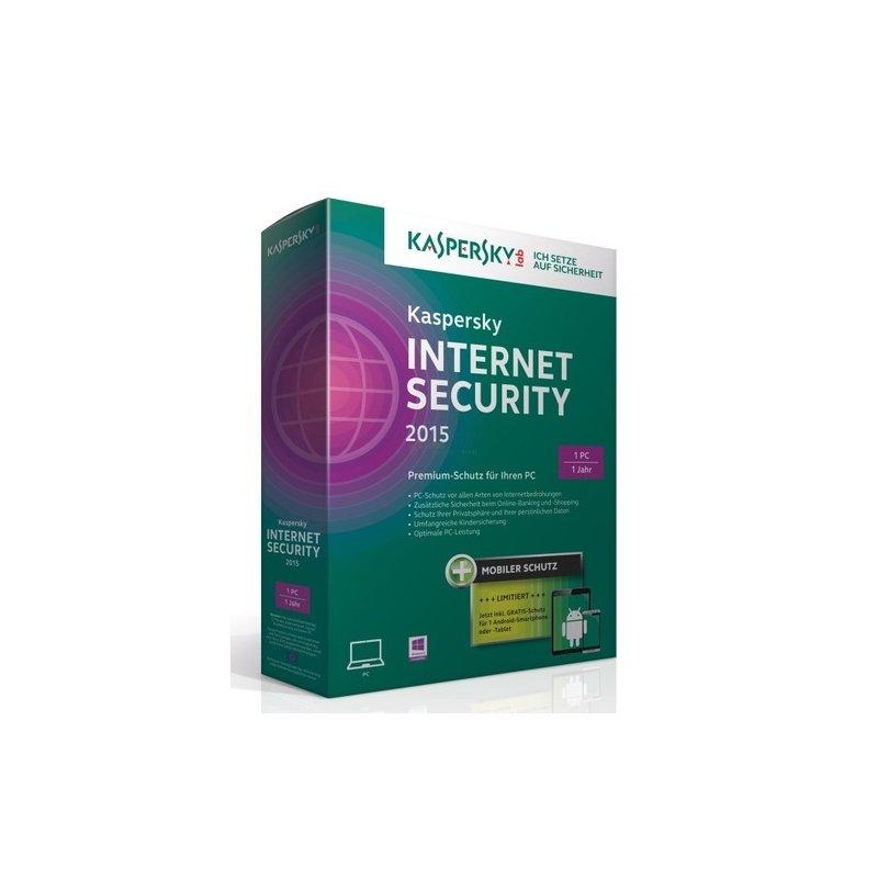 Kaspersky Internet Security 2015 + Android Secu...