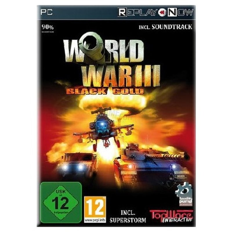 TopWare Interactive AG World War III: Black Gold (PC) DVD-Box