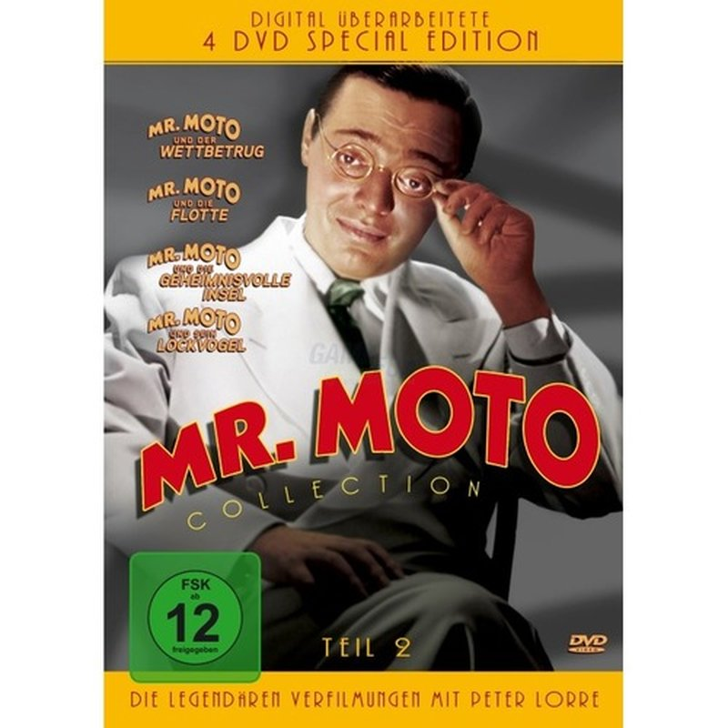 KochMedia Mr. Moto Collection - Teil 2 (4 DVDs)