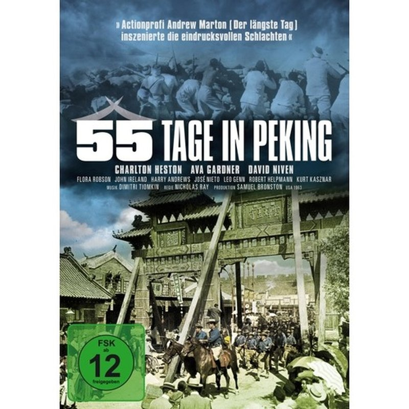 Spirit Media 55 Tage in Peking (Neuauflage) (DVD)