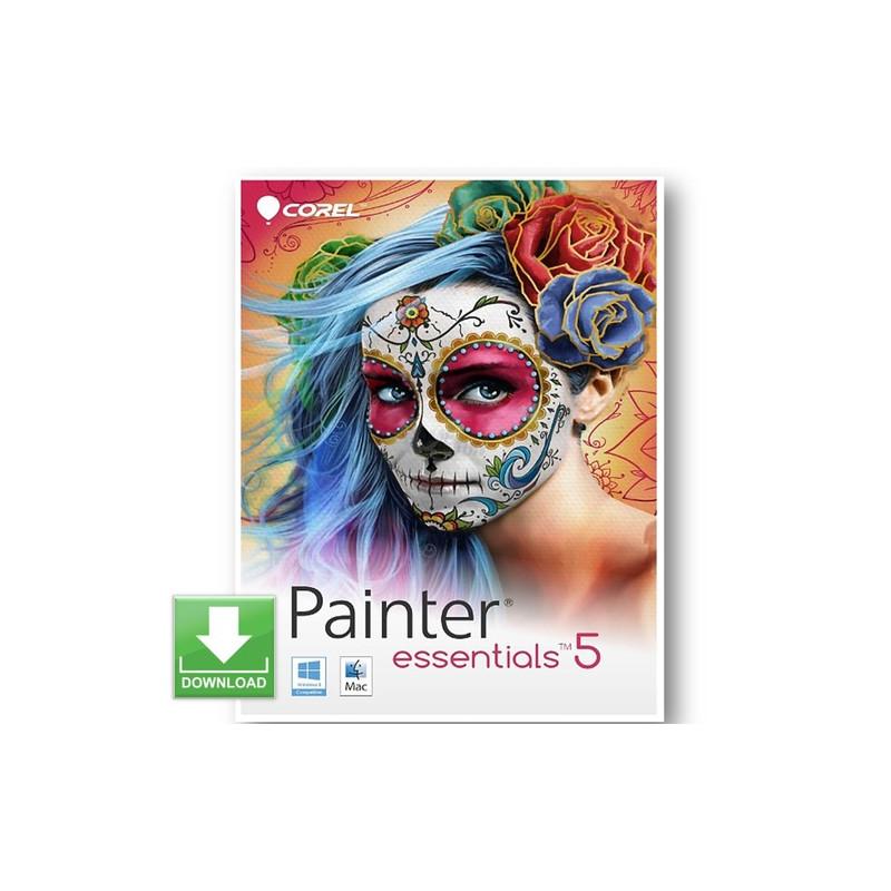 Corel Painter Essentials 5 ( DE / EN / FR ) 1 B...