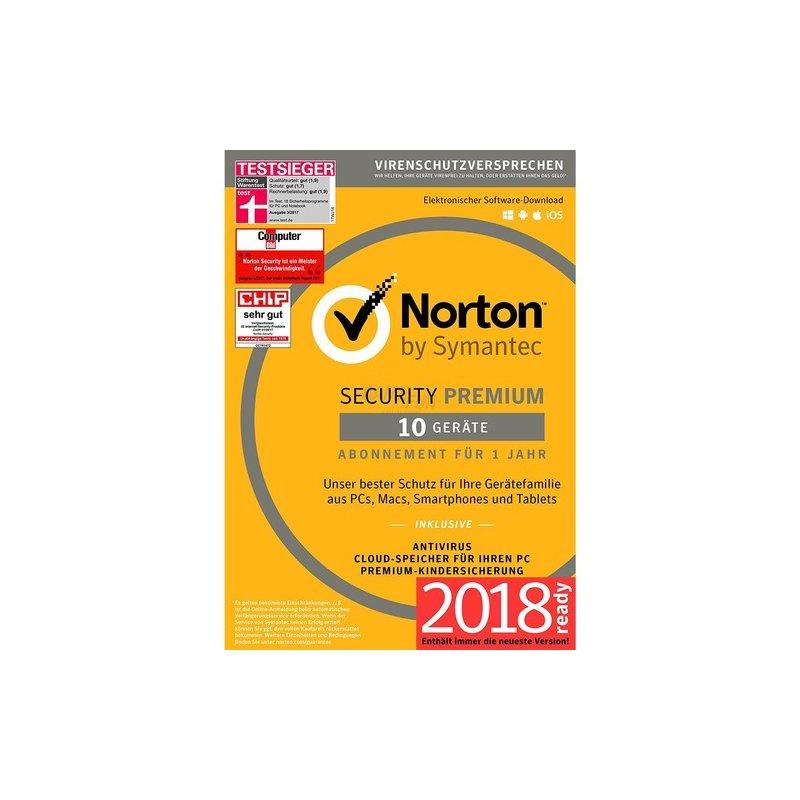 Symantec Norton Security Premium + 25GB Backup ...