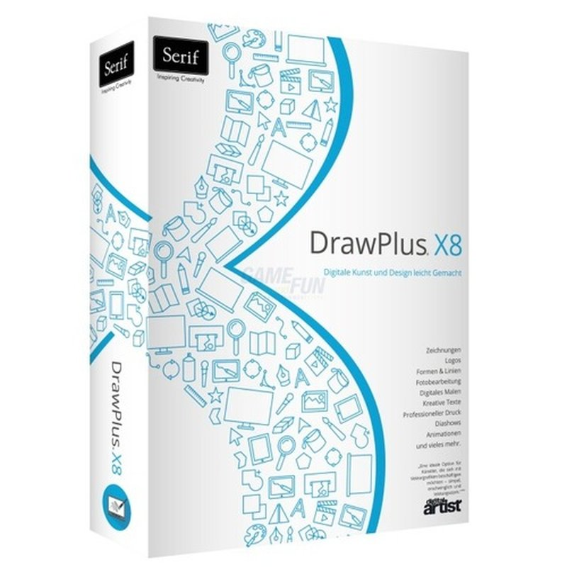 Serif DrawPlus X8 1 PC Vollversion MiniBox