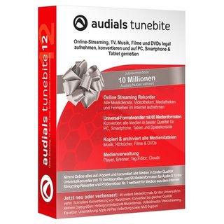 Audials Tunebite 12 1 PC Vollversion MiniBox