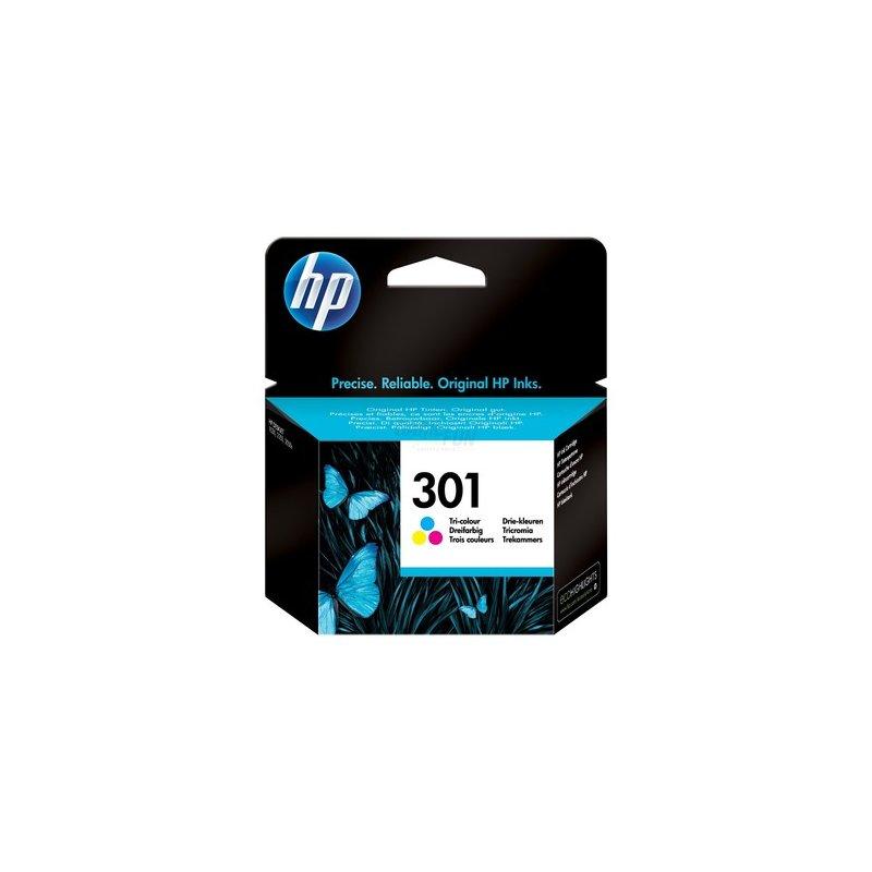 Hewlett Packard Tintenpatrone 301 (CH562EE) 3ml dreifarbig (C/M/Y) Retail
