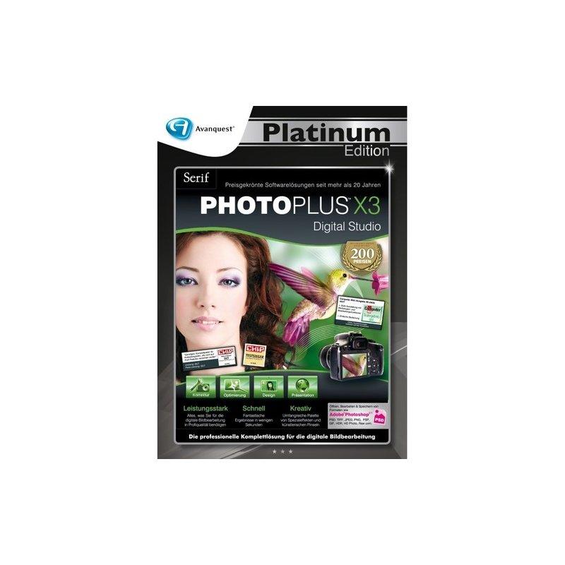 Serif PhotoPlus X3 Vollversion DVD-Box Platinum Edition