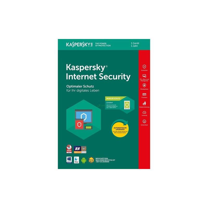 Kaspersky Internet Security + Mobiler Schutz 1 ...