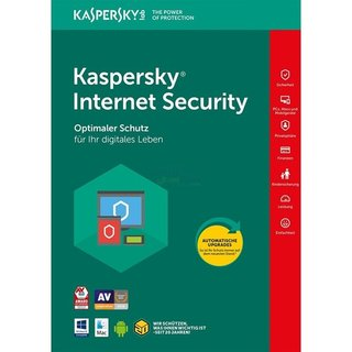 Kaspersky Internet Security 2 Geräte Vollversion EFS PKC 1 Jahr Limited Edition für aktuelle Version 2018