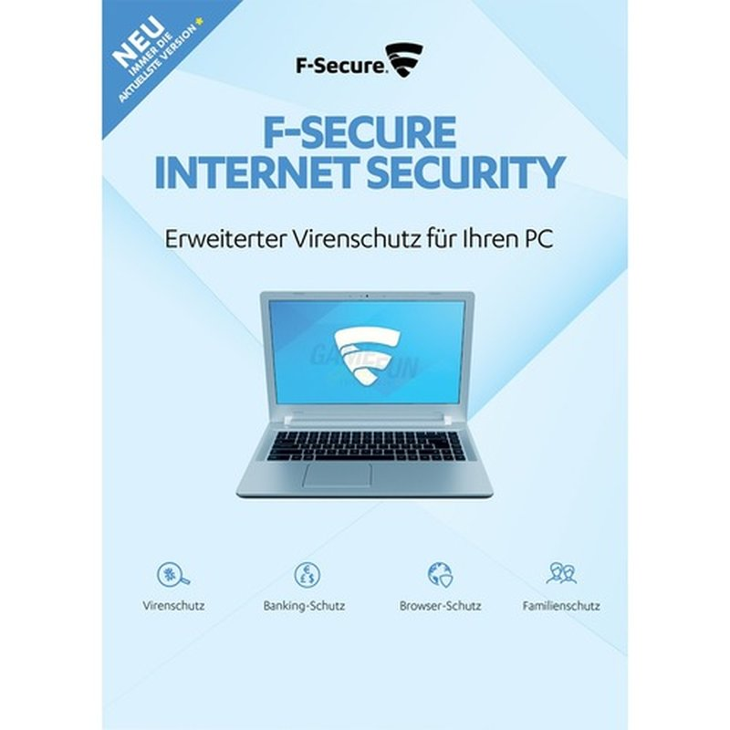 F-Secure Internet Security 5 PCs Vollversion EF...